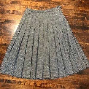 Pendleton Vintage Pleated Skirt